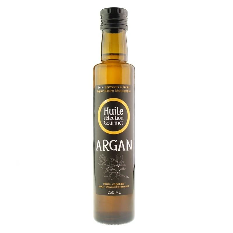 Huile D Argan Bio Alimentaire Bouteille 250 Ml Produit Du Maroc